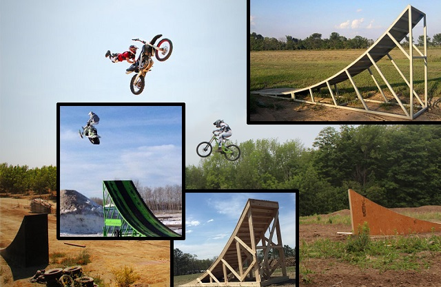 Action Sports Ramps Fmx Ramp Plans Freestyle Snowmobile Dh