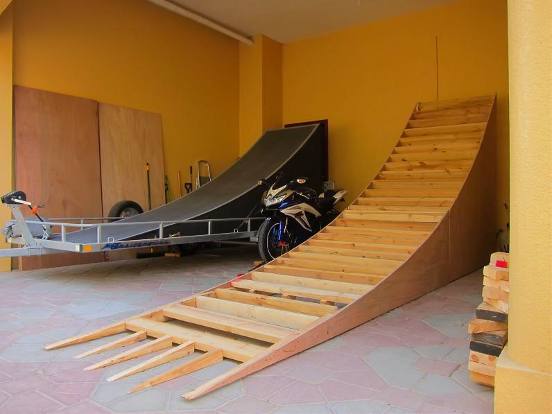 how to make a kicker ramp